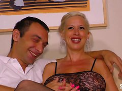 SEXTAPE GERMANY - Hot amateur fuck with busty German blonde