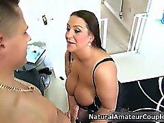 Busty amateur whore getting part5