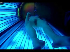 skinny teen in solarium.mp4