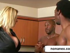 blonde girl fuck 2 boys