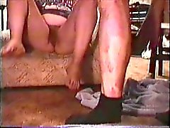 Crackwhore Fat Pig Slut, takes piss and cum
