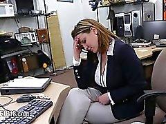Hardcore voyeur penetrating at public place