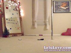 Lelu Love-WEBCAM: Poledancing Bikini Striptease JOI