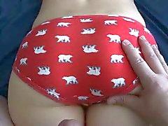 Panty Cumshot 03