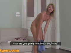 FakeAgent HD Hot GF cheats behind BFs back