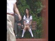 Shy Japanese schoolgirl gets fucked