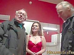 Prostitute gets creampie