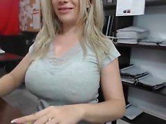 Flashing Blonde Babe Lenas Highway Masturbation And Public