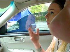 Hitchhiker Alex Blake banged by stranger