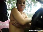 Yummy Busty Amateur Loves To Play With Her Warm Wet Gash
