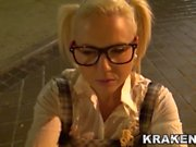 Krakenhot - BDSM Submission outdoor with a hot teen