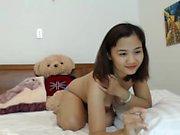 Shiina amateur asian babe at home talking