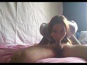 my slave Romy shows her skills