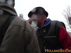 Amateur hooker rubbed