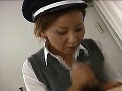 Airline stewardess welcomes him to the mile high club by je