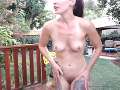 Outdoor softcore lesbo action