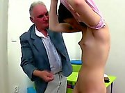 Hardcore lesson with hot sweetheart