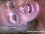 A wife is being pounded by her strapping husband in this homemade closeup shoot