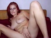 Brunette with small panties fucking your delicious pussy