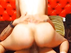 Guy Gets Her Cock Sucked By This Colombian Hottie