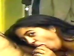 Indian Pleasing Her Boss In The Office