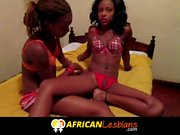 Amazing Real Amateur African Lesbian Scene Never Seen Before