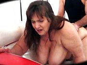 Big Butt BBW Voluptuous Granny Returns - 82