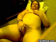 Fat British amateur about the hairy hoochie