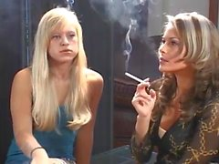 Smoking Courtney and friend