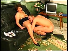 Blowjob From a BBW Amateur MILF