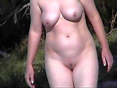 Nude Beach - Redhead Mature