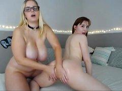 Cute Cassie Laine Lesbian Massage
