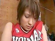 Alluring teen gets her slit devoured and works her lips on
