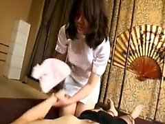 Teen Angelina POV Blowjob