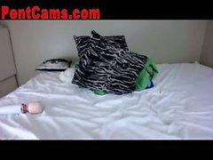 Pigtailed EMO Hottie Webcam Show 3