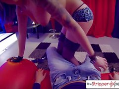 The Stripper Experience - Nikki riding a nice hard cock