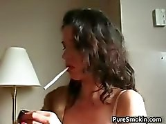Hot nasty big boobed horny MILF having part1