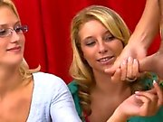 Thrilling and wild sex with wicked teen pair