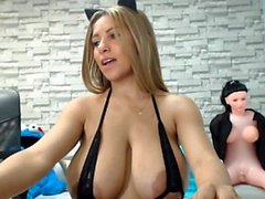 Fetish ho with clamps on pussy and nipples toys her ass