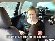 Anally rammed babes in the car