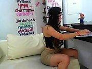 Webcam busty masturbate