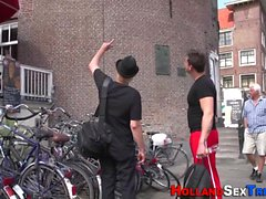 Dutch prostitutes jizzed