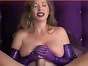 BIG BOOBS wife gives a nice pov handjob