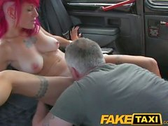FakeTaxi Rock chick with sexy tattoos gets real dirty
