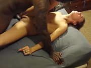 STP7 Husband Films His Petite Wife Going Orgasmic On A BBC !