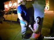 TEENGONZO Sexy Hunter Paige gets pumped in her tight asshole