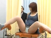 Asian GF hairy pussy drilling