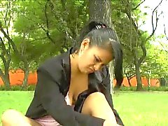Amateur latina Beatriz public nudity
