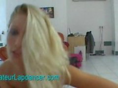 Strip and lapdance by czech amateur sexbomb