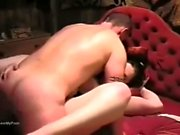 Amateur BBW Takes Big Black Cock in Her Ass in First Scene